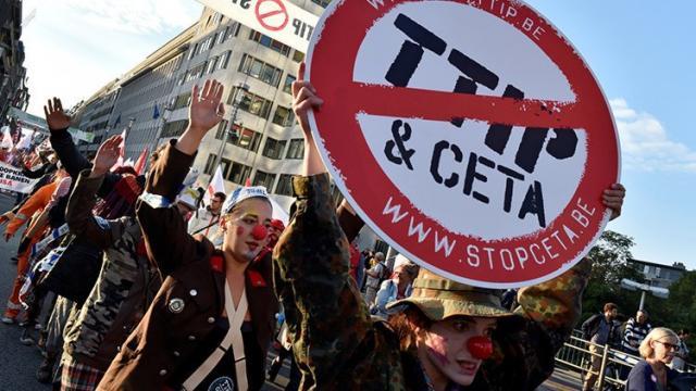 CAMPAÑA CONTRA TTIP Y CETA
