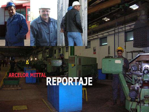 Visita a la Planta de Arcelor en Annaba (Argelia)