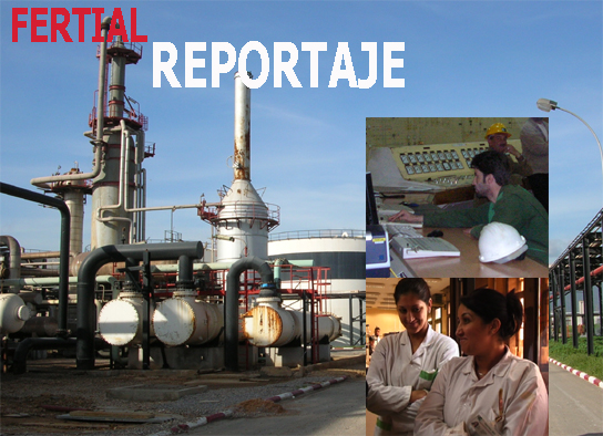 Visita a la empresa de fertilizantes Fertial en Argelia