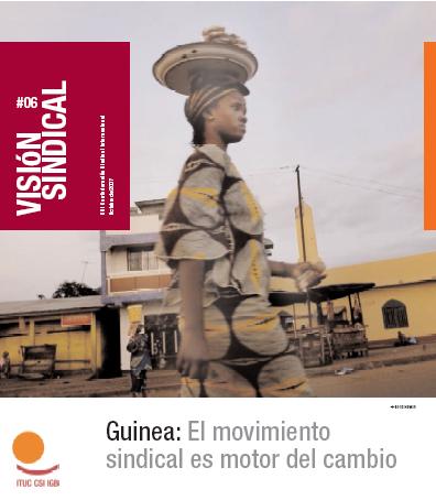 Guinea: El movimiento sindical es motor del cambio