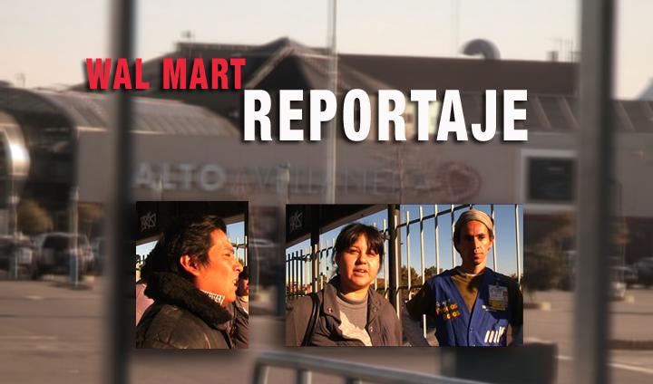 Trabajadores y trabajadoras de Walmart – Avellaneda (Argentina).