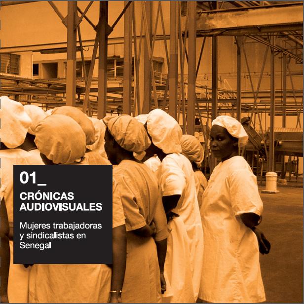 Mujeres trabajadoras y sindicalistas en Senegal