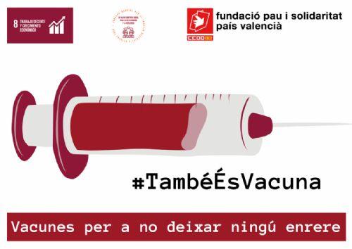 'Vacunas para no dejar a nadie atrás': acción global para exigir trabajo decente